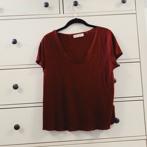 Urban Outfitters Red Tshirt